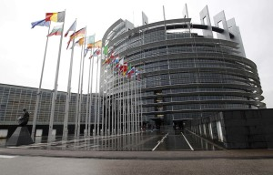 A general view of the European Parliament in Strasbourg