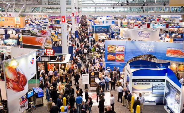 Seafood Expo North America em Boston