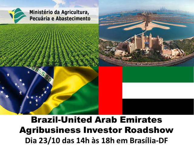 Brazil-United Arab Emirates Agribusiness Investor Roadshow